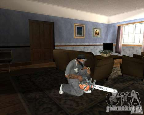 Новая бензопила для GTA San Andreas третий скриншот