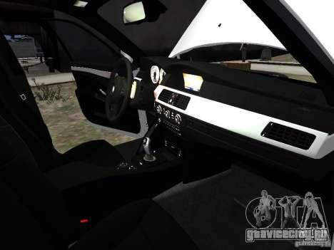 BMW M5 для GTA 4 салон
