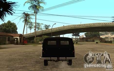 УАЗ-450 «Сорока» для GTA San Andreas вид сзади слева