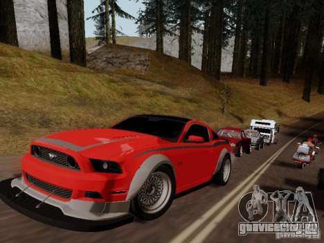 Ford Mustang RTR Spec 3 для GTA San Andreas