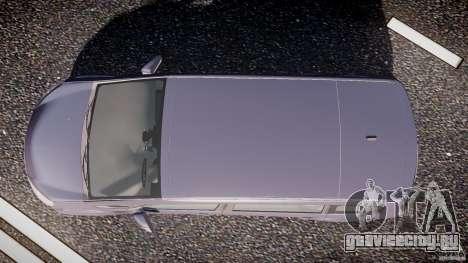 Ford Galaxy S-Max для GTA 4 вид справа