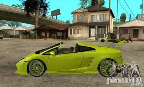 Lamborghini Gallardo LP560-4 Hamann для GTA San Andreas