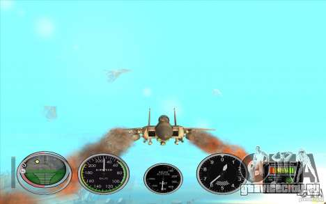 Ракеты быстрого запуска для Hydra и Hunter для GTA San Andreas второй скриншот