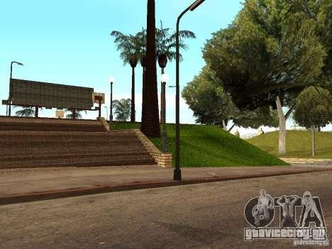 Новая баскетбольная площадка в Лос Сантосе для GTA San Andreas шестой скриншот