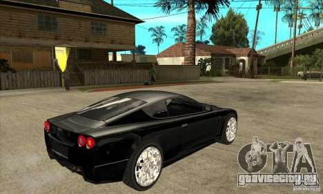 GTA IV SuperGT для GTA San Andreas вид справа