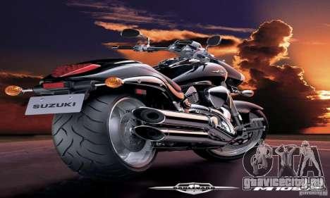 Загрузочные экраны и меню в стиле мотоциклов для GTA San Andreas