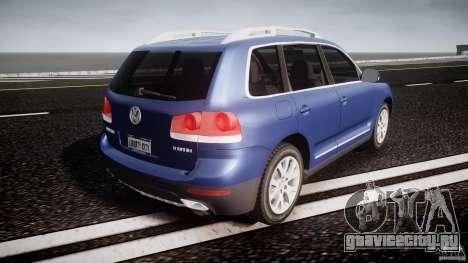 Volkswagen Touareg 2008 TDI для GTA 4 вид сверху