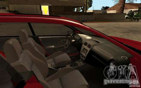 Subaru Impreza WRX Wagon 2002 для GTA San Andreas вид изнутри