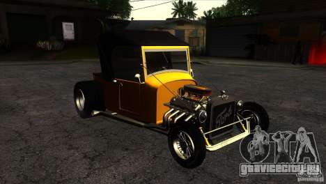 Ford T 1927 Hot Rod для GTA San Andreas вид сзади