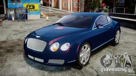 Bentley Continental GT v2.0 для GTA 4