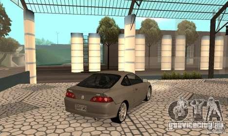 Acura RSX New для GTA San Andreas вид сзади слева