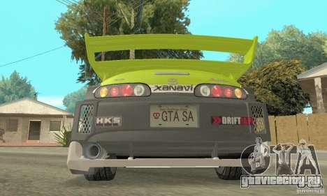 Toyota Supra Tunable 2 для GTA San Andreas