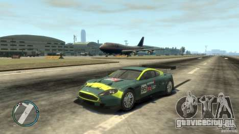 Aston Martin DBR9 для GTA 4