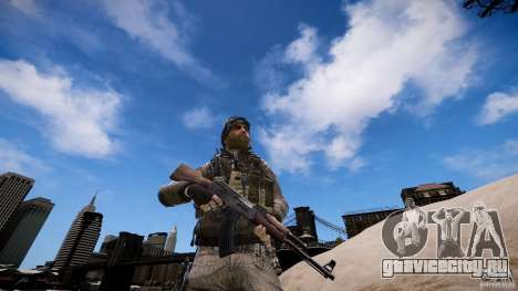 Капитан Прайс из COD MW3 для GTA 4