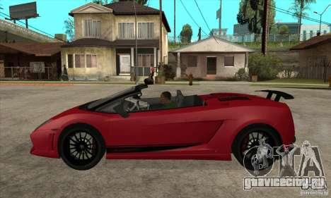 Lamborghini LP570-4 Performante 2011 для GTA San Andreas вид слева