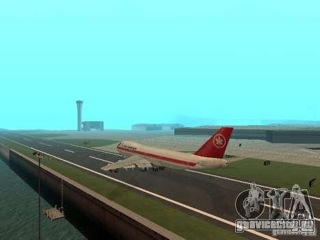 Boeing 747 Air Canada для GTA San Andreas вид справа
