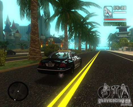 Real palms v2.0 для GTA San Andreas второй скриншот