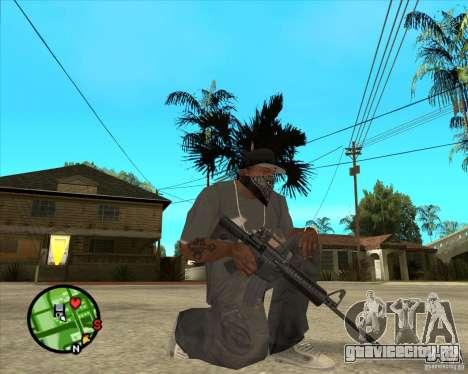 M4 Carbine для GTA San Andreas