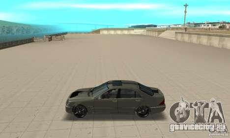 Mercedes Benz AMG S65 DUB для GTA San Andreas вид слева
