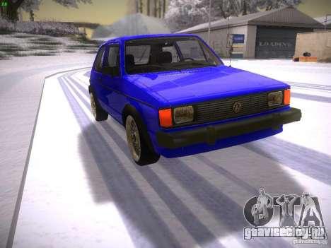 Volkswagen Rabbit GTI для GTA San Andreas