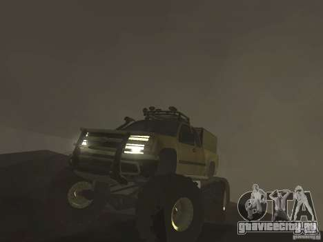 Chevrolet Colorado Monster для GTA San Andreas вид справа