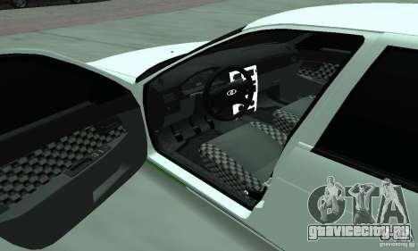 Lada Priora Low для GTA San Andreas вид сбоку