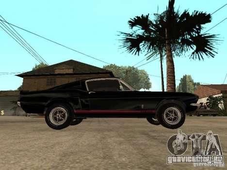 Shelby Mustang GT 500 для GTA San Andreas
