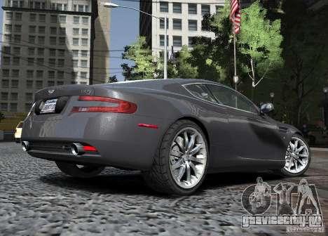Aston Martin DB9 2008 v 1.0 для GTA 4 вид сбоку