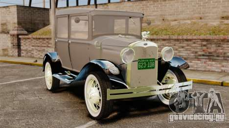 Ford Model T 1927 для GTA 4