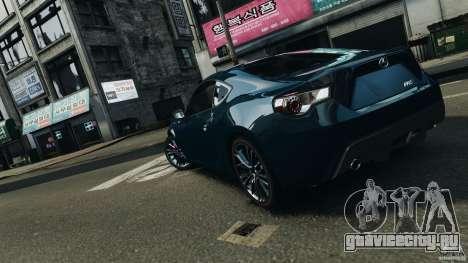 Scion FR-S для GTA 4 двигатель