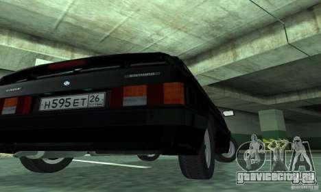 Ваз 2113 Люкс v.1.0 для GTA San Andreas вид справа