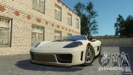 Turismo Spider для GTA 4