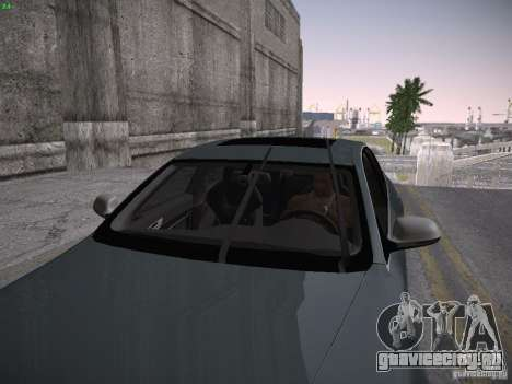 Audi RS6 2009 для GTA San Andreas вид сзади