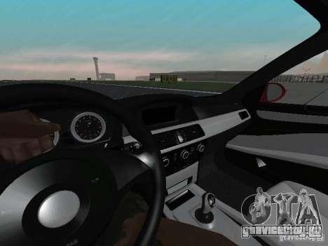 BMW M5 E60 для GTA San Andreas вид сбоку