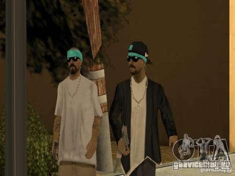 Стандартные модели Aztecas для GTA San Andreas второй скриншот