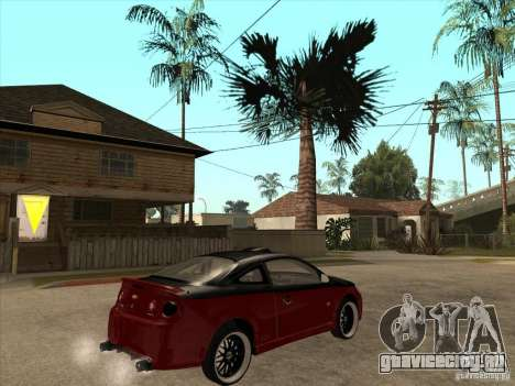 Chevrolet Cobalt ss Tuning для GTA San Andreas вид справа
