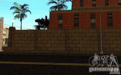 Новые текстуры для госпиталя в Лос Сантосе для GTA San Andreas восьмой скриншот