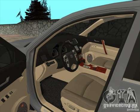 Toyota Highlander для GTA San Andreas вид сбоку