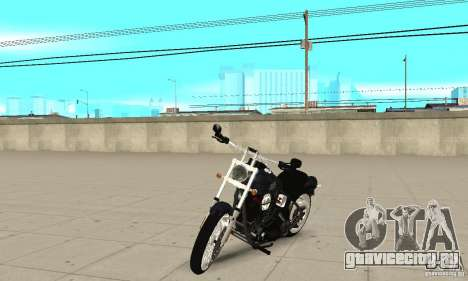 Harley Davidson FXSTBi Night Train для GTA San Andreas