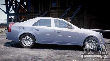 Cadillac CTS для GTA 4 вид слева
