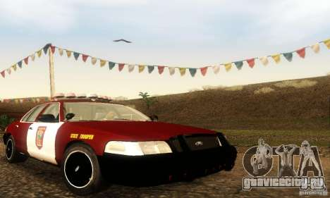 Ford Crown Victoria Minnesota Police для GTA San Andreas