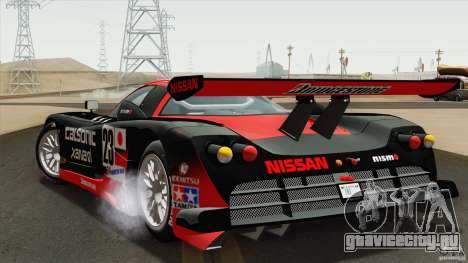 Nissan R390 GT1 1998 v1.0.1 для GTA San Andreas вид справа