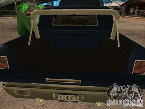 HD Columb для GTA San Andreas вид сзади