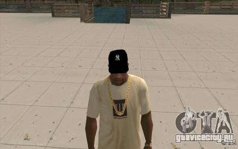 Кепка newyorkyankiys черная для GTA San Andreas второй скриншот