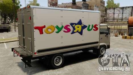 Новая реклама для грузовика Mule для GTA 4 вид изнутри