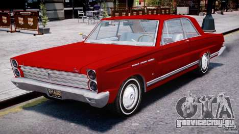 Ford Mercury Comet 1965 для GTA 4 вид слева