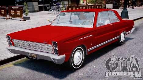 Ford Mercury Comet 1965 для GTA 4 вид слева
