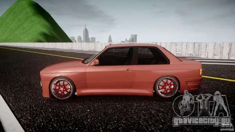BMW E30 v8 для GTA 4 вид слева