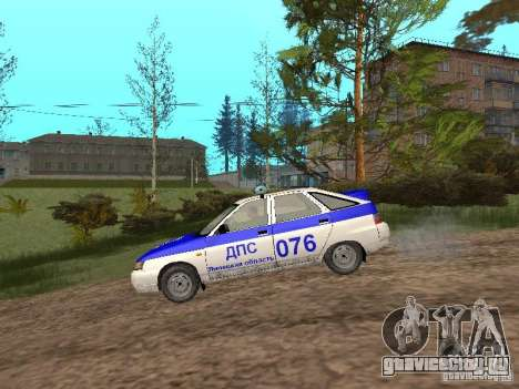 ВАЗ 21124 ДПС для GTA San Andreas