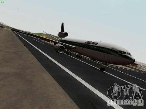 McDonell Douglas DC-10-30 Alitalia для GTA San Andreas вид справа